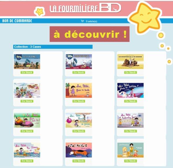 BD Edition La Fourmilière BD ...à découvrir !!!!!!! ^_^
