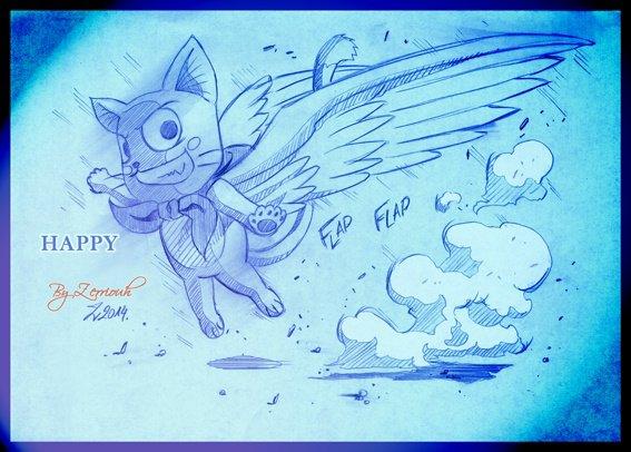 """""""HAPPY"""" Fairy Tail !! Rendez-vous Vendredi prochain pour un nouveau dessin !!"""