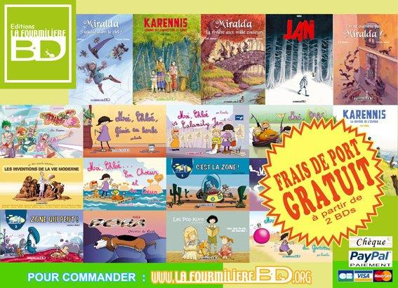 Editions La FourmilièreBD ! Bonne visite !;)
