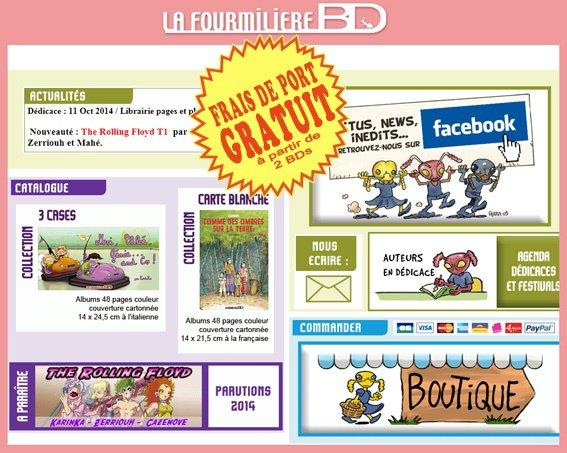 Le site ...La FourmilièreBD ! pour trouver The Rolling Floyd !!!!!!!!^_^