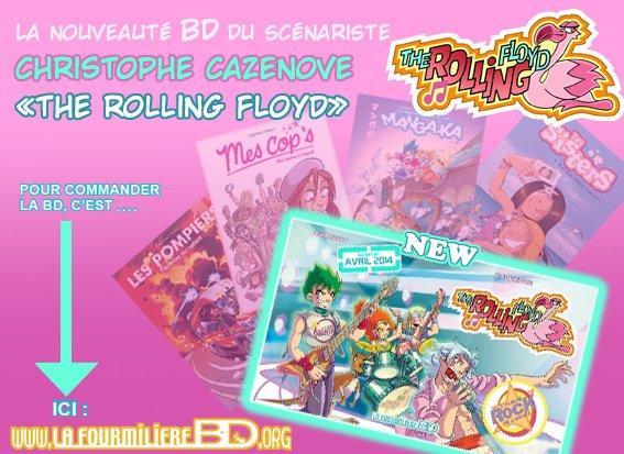The Rolling Floyd... par Christophe Cazenove Nouvelle BD !!!!!!