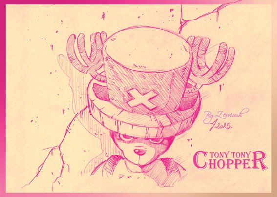"""Tony Tony CHOPPER"" One Piece : !!!!! Dessin du Vendredi!  ;)"