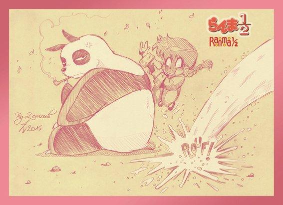 Ranma 1/2 ! ^_^ Dessin du Vendredi...en avance !!! !;)