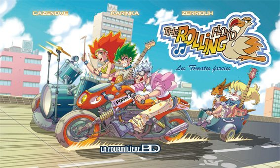 "Cover ""The Rolling Floyd"" tome 2 ! ^_^"
