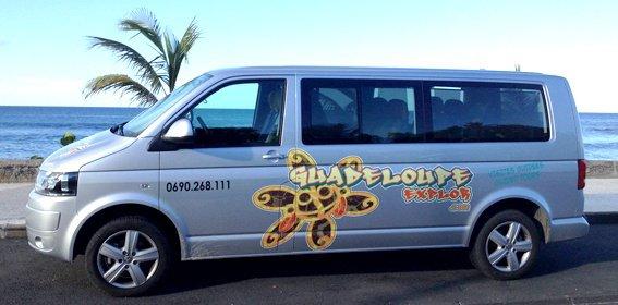 Logo dessiné par mes soins !!!!!! ;) Guadeloupe explor