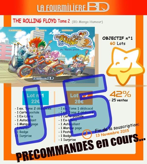 J-5 avant la fin de la précommande The Rolling Floyd tome2 !!!!! ^_^
