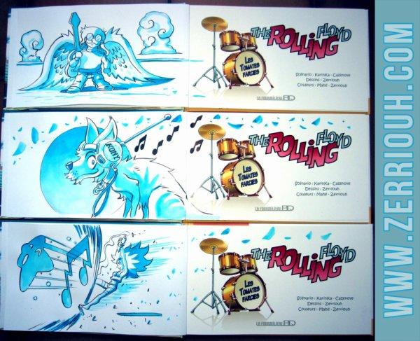 B- Dédicaces Préco en cours The Rolling Floyd !!!! ^_^