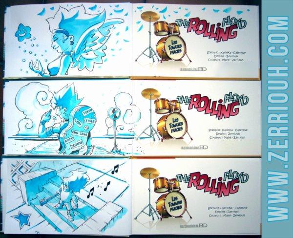 E- Dédicaces Préco en cours The Rolling Floyd !!!! ^_^