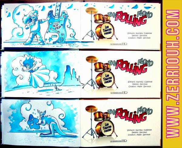 K- Dédicaces Préco en cours The Rolling Floyd !!!!!! ^_^