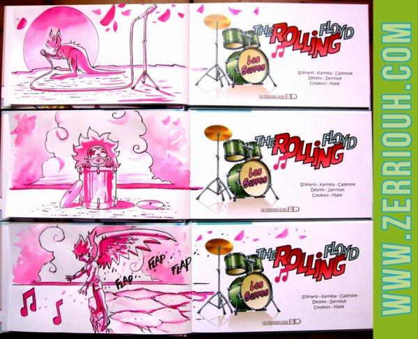 P- Dédicaces Préco en cours The Rolling Floyd !!!!!!! ^_^