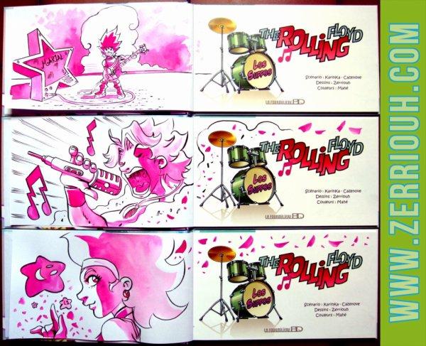 R- Dédicaces Préco en cours The Rolling Floyd !!!!!!! ^_^