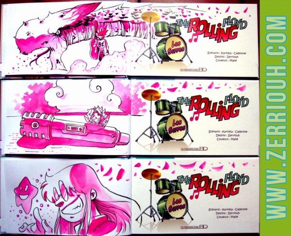 T- Dédicaces Préco en cours The Rolling Floyd !!!!!!! ^_^