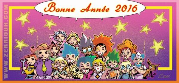 BONNE ANNEE !!!!!!! ^_^ by Zerriouh