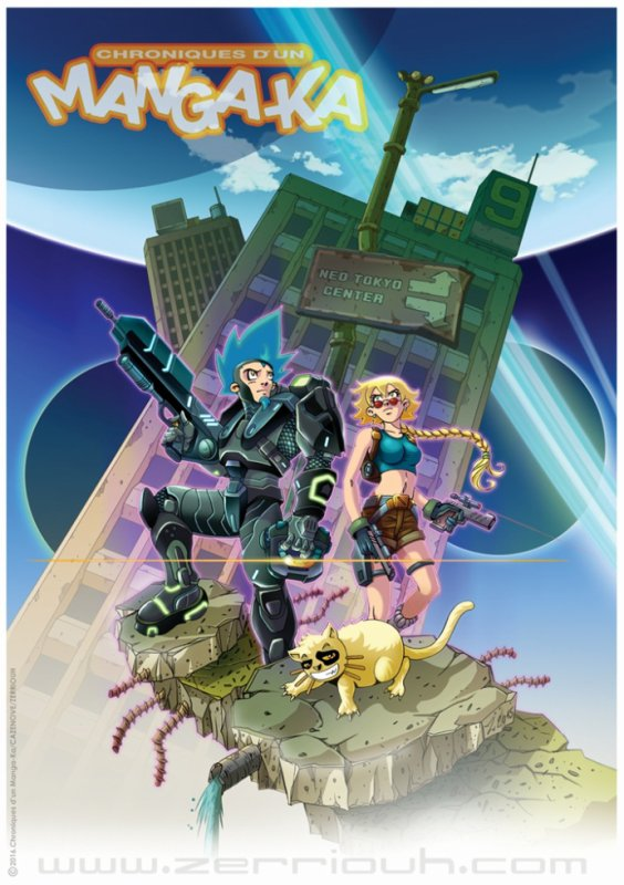 "Chroniques d'un Mangaka 4 ""Halo et tomb raider "" !!!!  ^_^"