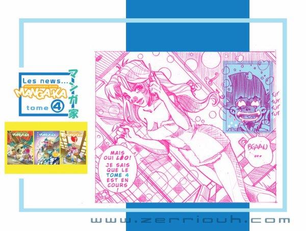 """Manga-ka """"rose bonbon"""" T4 en cours !!!!!! ;)"""
