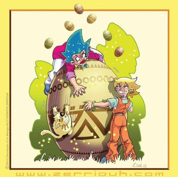 C'est ...Pâques tome 4 Mangaka !!!!!! ^_^