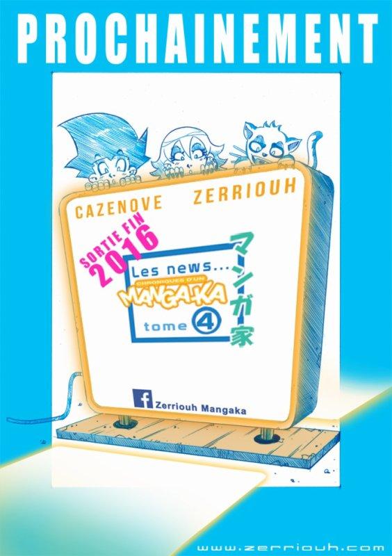 Pub Chroniques d'un Manga-Ka tome 4 !!! ^_^