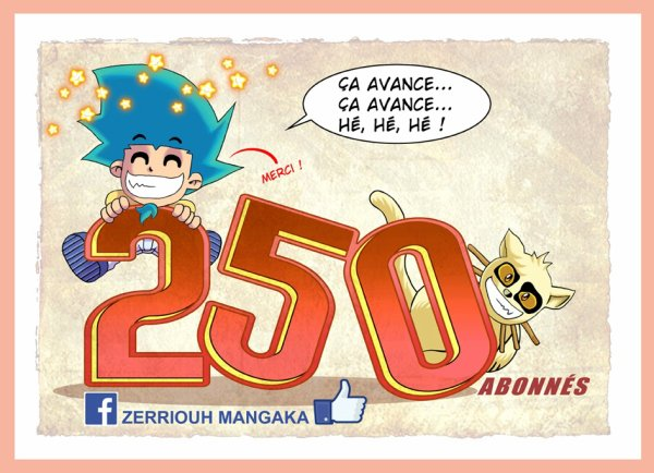 Pour découvrir ma page FB zerriouh mangaka !!! ;)