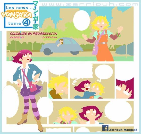 """Chroniques d'un Mangaka 4 """" Les aplats couleurs"""" !!  ^_^"""