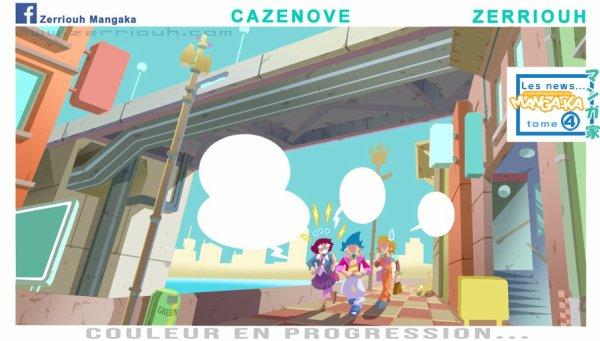Chroniques d'un Manga-Ka !!! WIP couleur ! ^_^