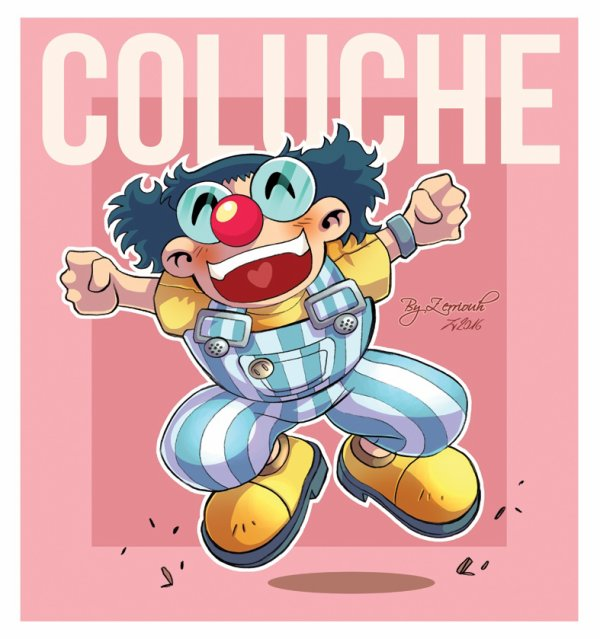 COLUCHE fan Art !! Zerriouh dessin !!!!!! ^_^