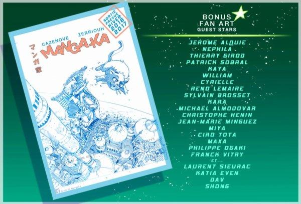 Chroniques d'un Mangaka 4 la cover !!!! ^_^