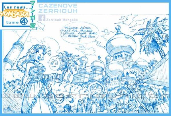 Chroniques d'un Mangaka page 01 crayon !!!! ;)