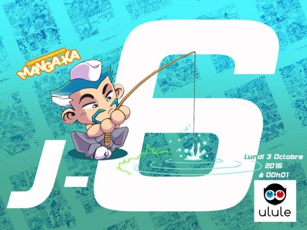 J -6 jours jours Chroniques d'un Manga-Ka Tome 4 !!! ^_^