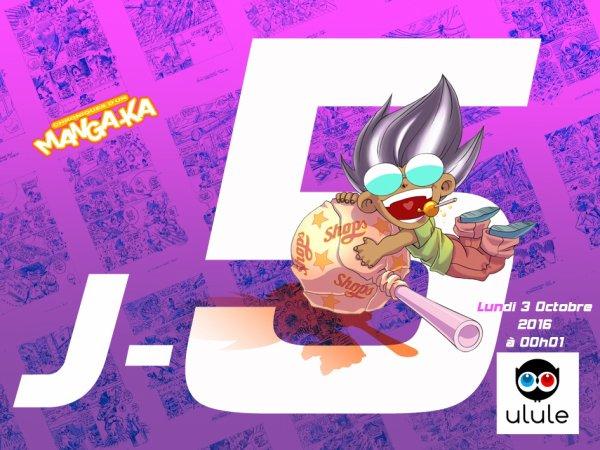 J -5 jours jours Chroniques d'un Manga-Ka Tome 4 !!! ^_^