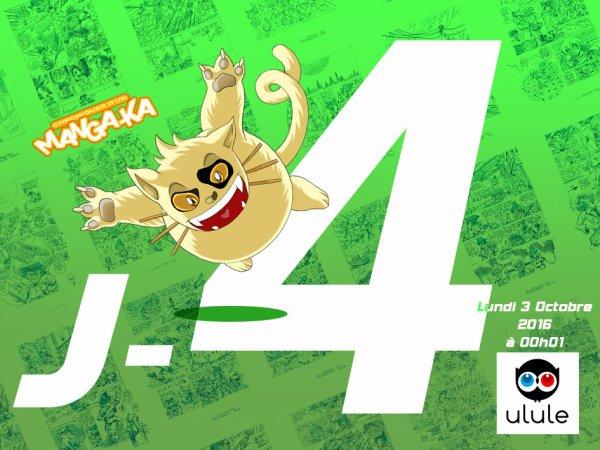 J -4 jours jours Chroniques d'un Manga-Ka Tome 4 ! ^_^