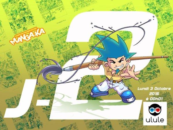 J -2 jours jours Chroniques d'un Manga-Ka Tome 4 ! ^_^