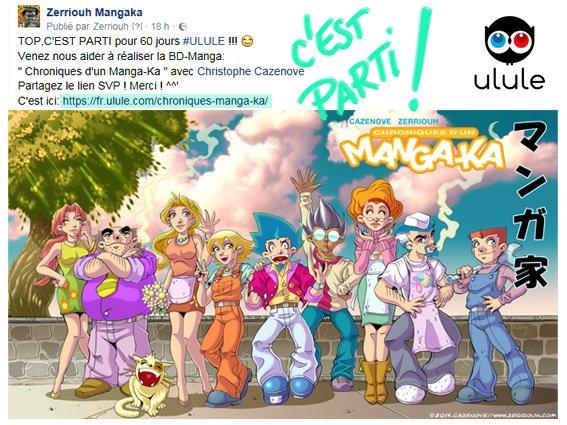 ULULE souscription BD Chroniques d'un Manga-Ka 4 !!!!! ^_^
