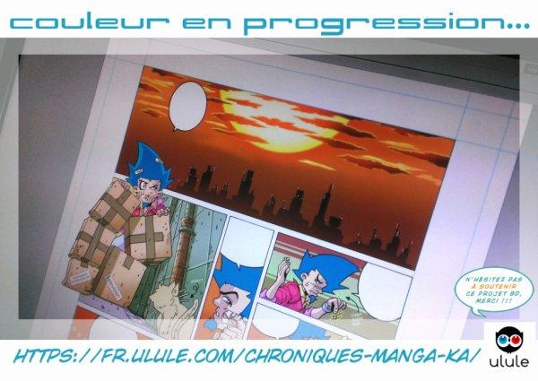 Chroniques d'un Manga-Ka 4 ! Couché de soleil !!! ^^