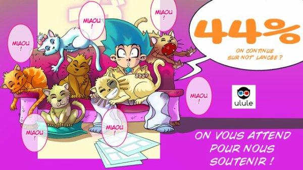 Y'aura du chat dans les Chroniques d'un Manga-Ka 4 !!!!! ;)