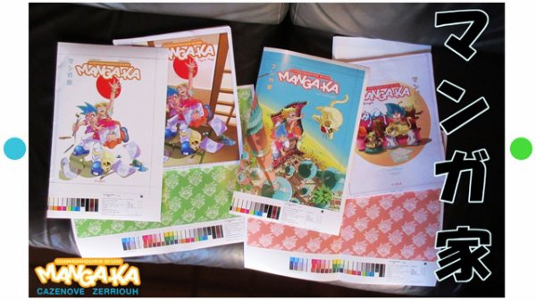 Mangaka Zerriouh Cazenove Imprimeur...Yes ! ^_^