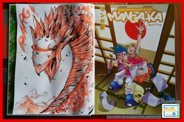 Dédicace Dragon sur Mangaka tome 4 ! ^_^