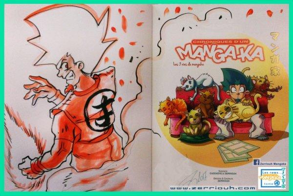 Dédicace Sangoku Mangaka tome 4, Zerriouh Cazenove ! ^_^
