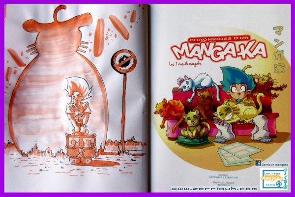Dédicace Totoro, Mangaka tome 4, Zerriouh Cazenove ! ^_^