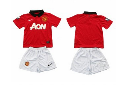 nike maillot football manchester united domicile enfant
