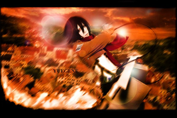 Cosplay : Mikasa Ackerman n°1