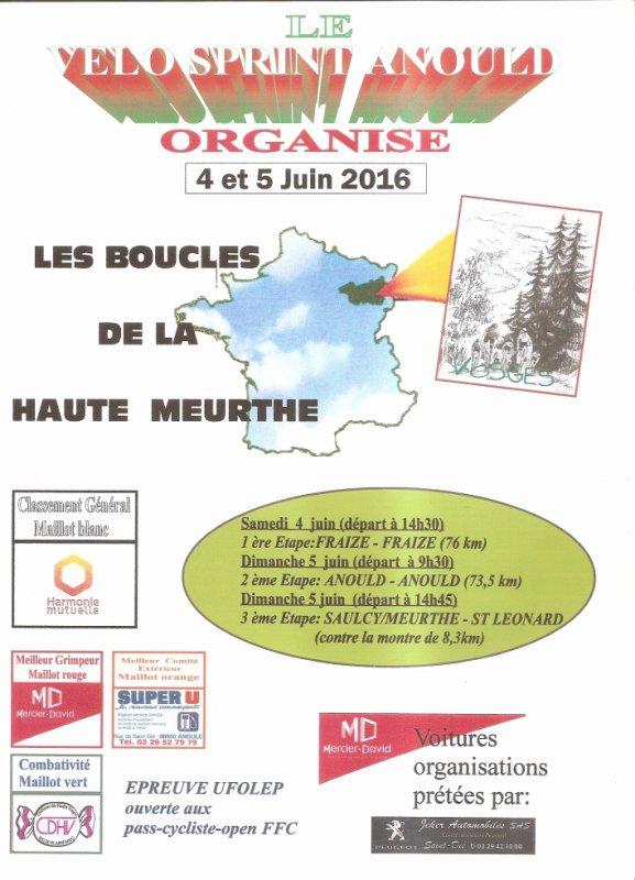 Boucles de la Haute Meurthe 2016