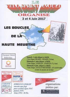 Boucles de la Haute Meurthe 2017