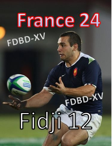 Coupe Du Monde 2011 - 20 ans / FRANCE - FIDJI