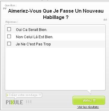 Le Pense- Bete, La New-Letter & Le Sondage De Pompom Pidou & Jude Citron ! ;)