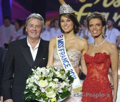 * Miss France 2010.