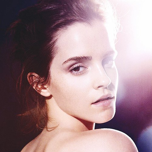Emma Watson for Natural Beauty by James Houston.