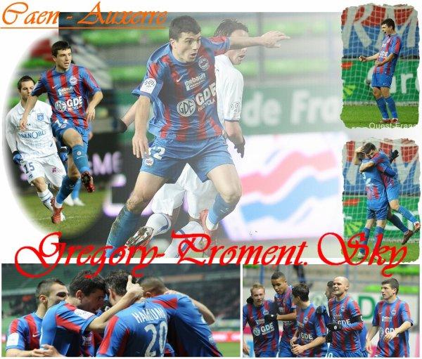 Championnat : Caen - Auxerre