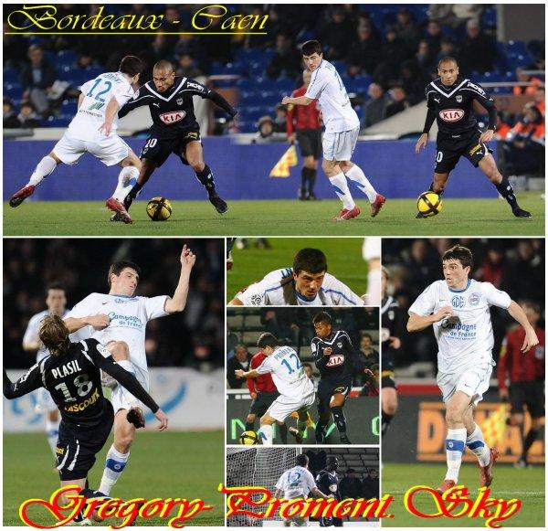 Championnat : Bordeaux - Caen