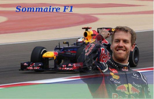 [Formule 1] Sommaire