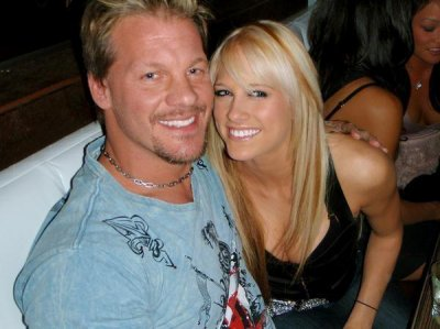 Kelly et Chris Jericho